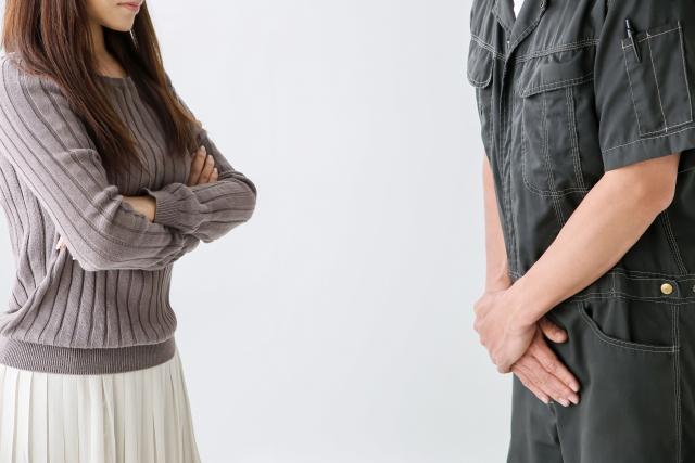 自己愛性人格障害者はクレーマーになる傾向が強い